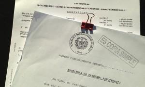 escritura hipoteca clausula suelo asesority
